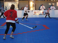 Looking for players for a co-ed ball hockey team