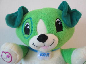 LEAPFROG My Pal Scout (Green Dog) --- $10 ONLY !!