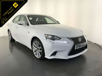 2014 64 LEXUS IS 300H F SPORT AUTO 1 OWNER SERVICE HISTORY FINANCE PX WELCOME