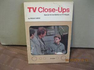TV   CLOSE-UPS      BY   PEGGY   HERZ    YEAR    1975 Oakville / Halton Region Toronto (GTA) image 1