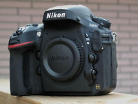 Nikon D800 body low shutter count