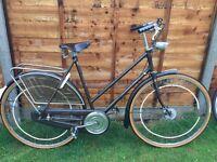 "Lovely Vintage Gazele Superieur Town Ladies Bike Large Frame 22,5"""