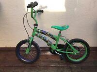 Boys 14 inch wheel bike teenage mutant ninja turtles