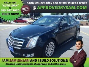 CTS 3.6L  APPLY WHEN READY TO BUY @ APPROVEDBYSAM.COM
