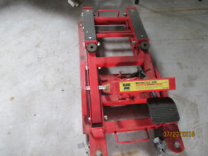 Motorcycle lift jack for sale