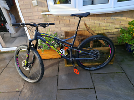 Whyte t130rs mountain bike