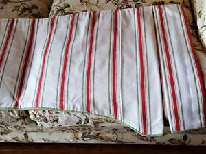 PPU - Fully lined designer drapes and valance