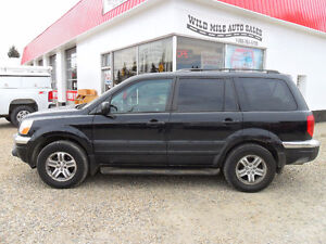 2003 Honda Pilot EX-L *4X4* 8 PASSENGER* LEATHER*