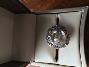 Women's Stirling Silver and gemstone