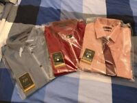 3 Next Shirts, 16'' Neck, Slim Fit for Sale £30 (or £10 each)