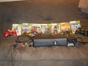 X Box 360 with 7 games