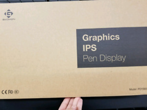 BNIB Gaomon Graphics IPS Pen Display Drawing Board
