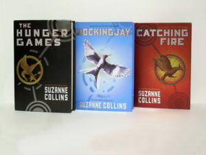 The Hunger Games - Complete Series - MINT Hardcovers