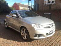 Vauxhall Tigra 1.8I 16V EXCLUSIV (aluminium/silver) 2008
