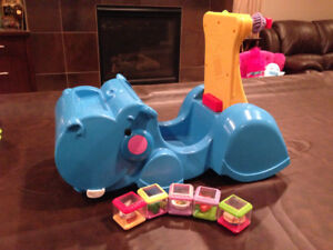 Fisher Price Hippo - Ride or Push