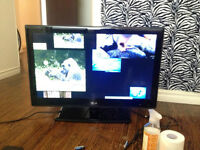 LG flat screen TV, comes with Apple TV