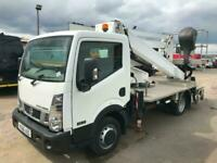NISSAN CABSTAR 35.12 N400 OIL AND STEEL 2010 SNAKE H 20 M CHERRY PICKER 2017