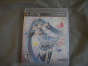 Hatsune Miku Project Diva F 2nd (PS3)
