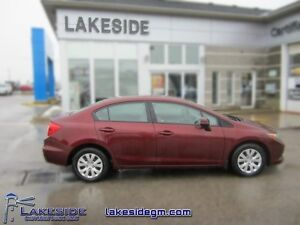 2012 Honda Civic LX  - one owner - local - trade-in - non-smoker