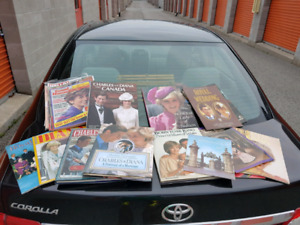 Vintage Books and Magazines of Princess Diana