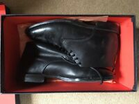 Designer Jeffrey West men's leather shoes size 8 reduced