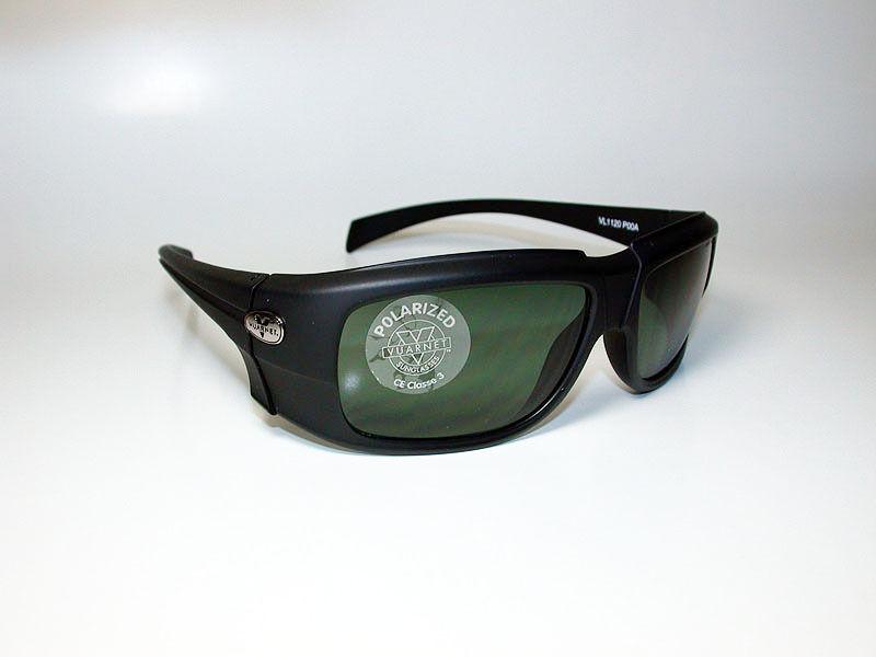 Vuarnet Sunglasses VL 1120 PC3000 POLARIZED LENS LARGE BLACK WRAP *NEW*