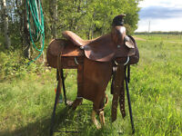 Western billy cook saddle 15.5 seat