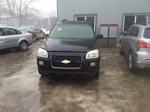 2005 CHEVY UPLANDER  3.5L 121 WB  PARTING OUT