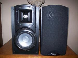 Klipsh Synergy B-20 premium speakers and KW100 Powered Sub.