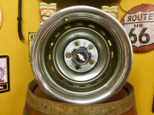 Chevy truck rally rims.