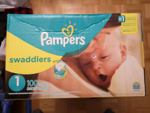 Couches Pampers 1 / Pampers Diapers Size 1