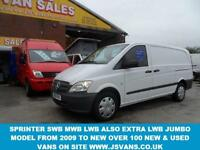 2012 12 MERCEDES-BENZ VITO LWB 113 CDI VAN ONLY 69000 MLS DIESEL