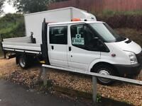 2013 63 Ford Transit 2.2TDCi ( 125PS ) 350 LWB CREWCAB / TAIL-LIFT / DROPSIDE