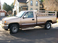 Truck for hire.3\4 ton chev pick-up