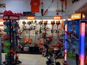 Massive Power Equipment Selection - Stihl, Cub Cadet, Husqvarna