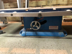 Wood Cutting - Electric Table Saw with Fence