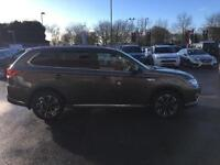 2016 Mitsubishi Outlander PHEV GX 4H PETROL/ELECTRIC brown Semi Auto