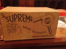 Vintage 1950s Supreme Haidryer