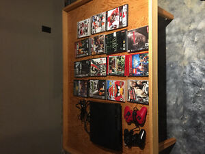 PS3, controllers & games