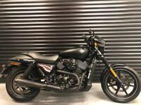 MY17 Harley-Davidson Street XG 750 Stage 1 Screamin Eagle Denim Black
