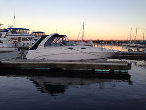 Cruiser Chaparral 30 pieds, 2x Volvo 5.0GXi, AC, Generatrice