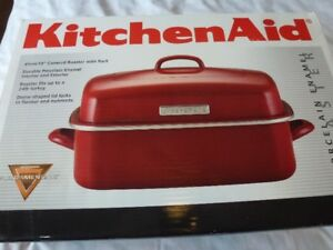 KITCHEN AID ROASTER WITH RACK  BRAND NEW