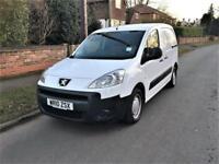2010 Peugeot Partner 1.6 HDi ( 90 ) L1 850 S NO VAT ONLY 62,000 MILES