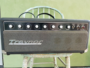 Vintage 60s' 4 channel all tube traynor amp