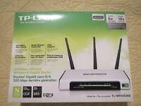 Router TPLink 1043 ND Wireless type N 450Mb/s+4 Gigabits