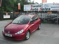 2005 PEUGEOT 307 S 1.6HDi ONLY 78,976 MILES, FULL SERVICE HISTORY