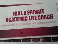 Hire a private ACADEMIC LIFE COACH!