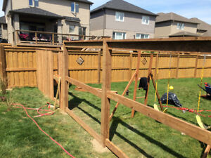 Post Hole Digging in the Area.  Fences built or Deck Footings Cambridge Kitchener Area image 1