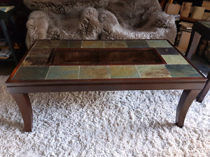 Rustic modern coffee & end tables