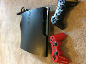 PS3 with 2 controlers